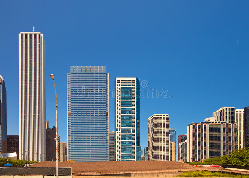 Download City Of Chicago USA, Panorama Of Downtown Stock Image - Image: 31502573