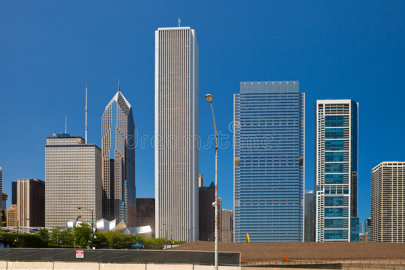 Download City Of Chicago USA, Panorama Of Downtown Stock Image - Image: 31502587