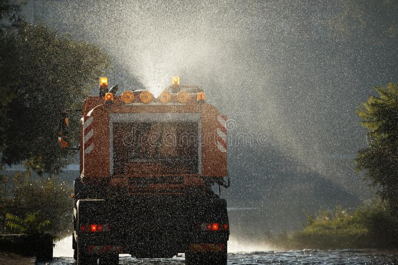 Download City cleaning stock image. Image of illuminated, clean - 21451823