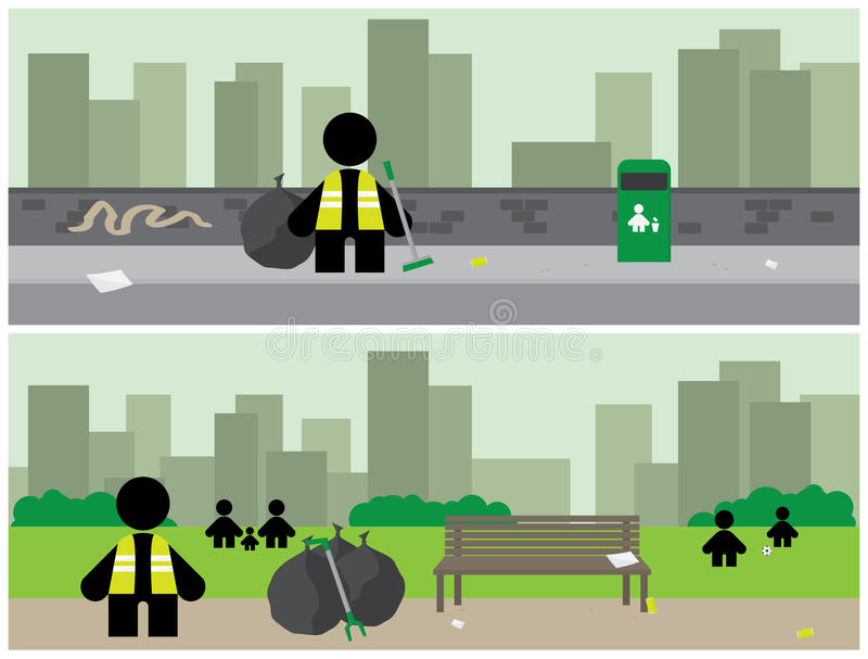 Download City Cleanup Banners Stock Photos - Image: 19419043