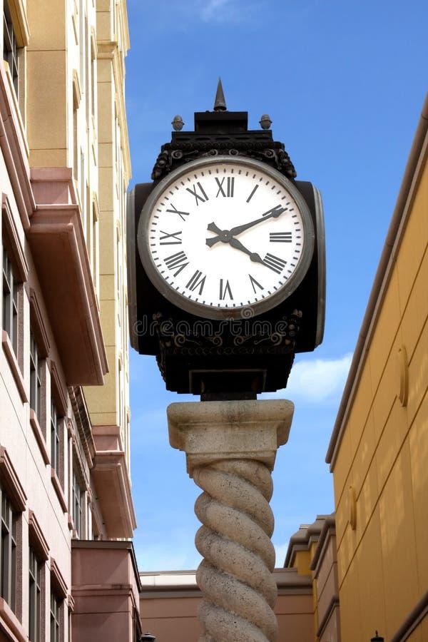 Download Boca Raton Mizner Park City Clock Stock Photo - Image of street, concept: 5732054