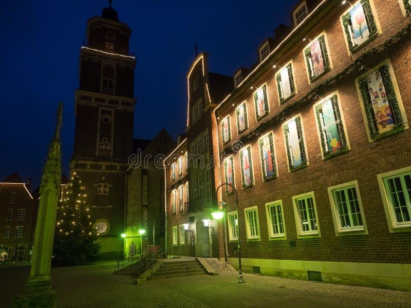 The city of coesfeld stock images