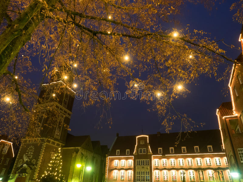 The city of coesfeld. In germany stock images