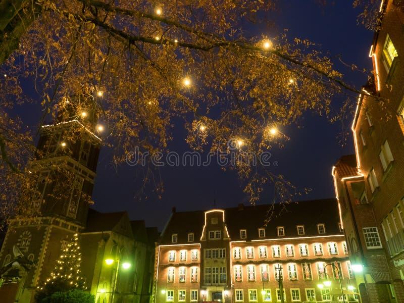 The city of coesfeld royalty free stock photos