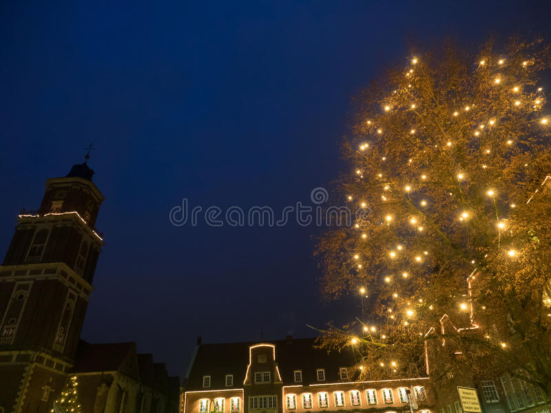 The city of coesfeld. In germany royalty free stock photo