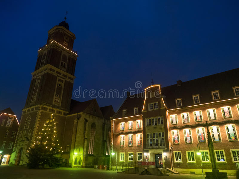 The city of coesfeld royalty free stock images