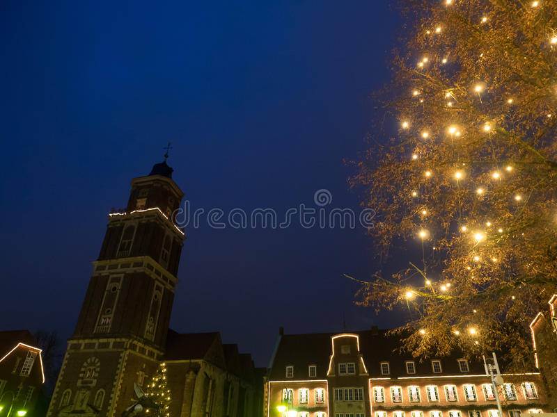 The city of coesfeld. In germany royalty free stock image