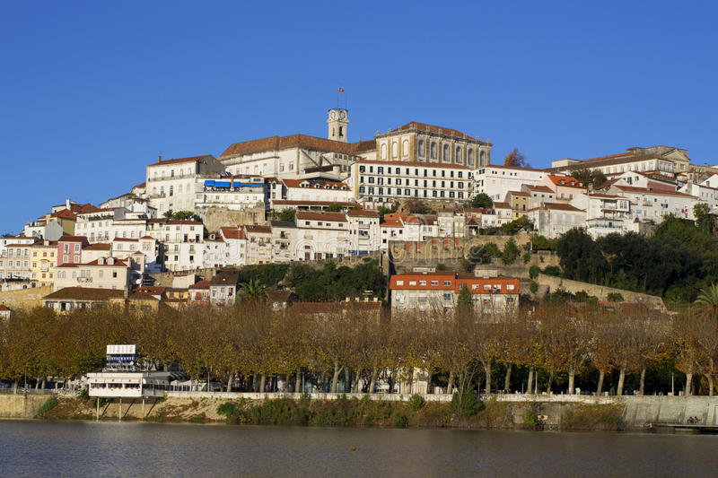 City of Coimbra. A view of the city of Coimbra royalty free stock photography
