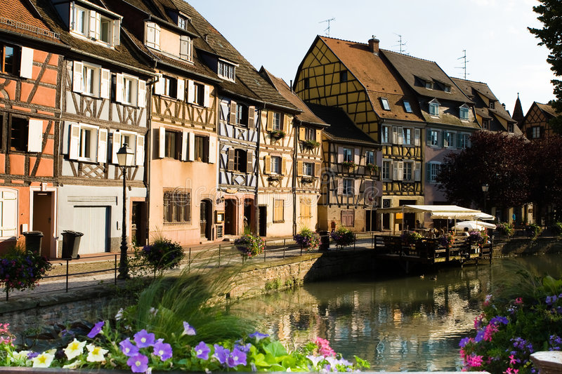 Download City of Colmar stock photo. Image of river, france, house - 9172104