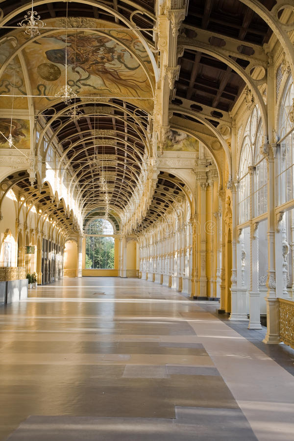 Download City colonnade stock photo. Image of ceiling, design - 11187896