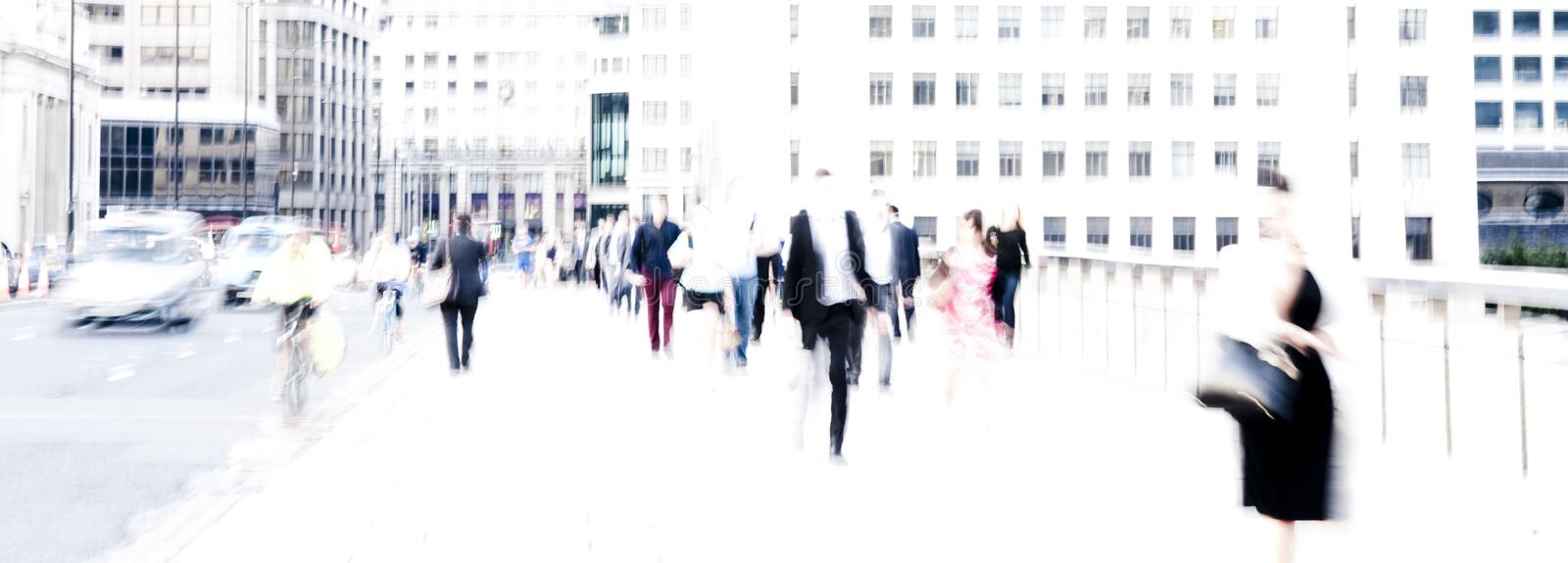 City commuters stock photography