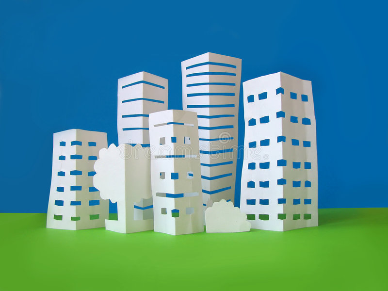 City concept stock photography