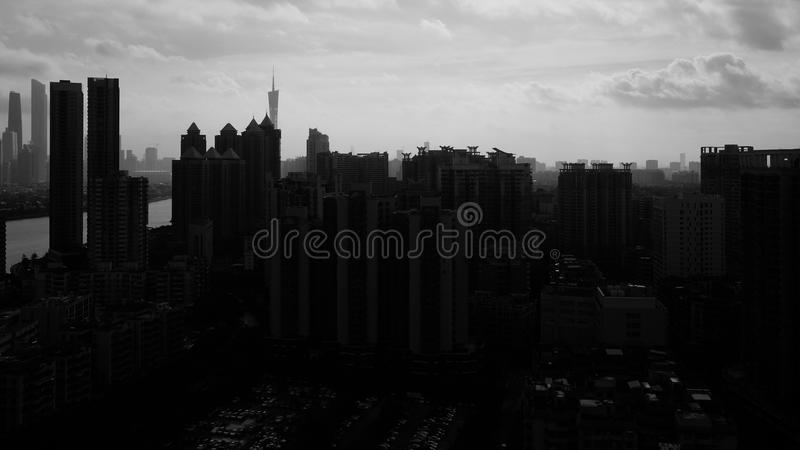 The City royalty free stock image
