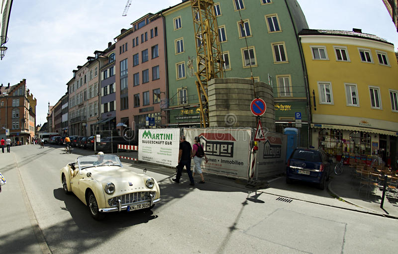 City of Constance - with old car