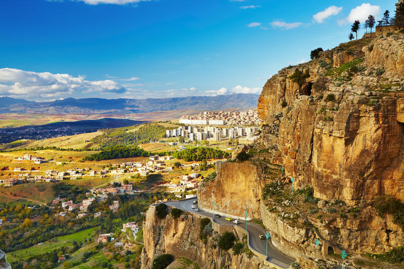 Download City Of Constantine, Algeria Stock Image - Image of travel, countryside: 18342505