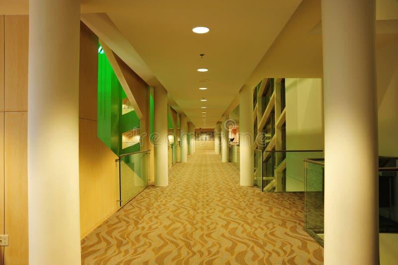 city corridor hall στοκ εικόνες