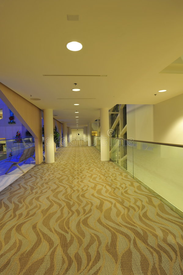 city corridor hall στοκ εικόνες με δικαίωμα ελεύθερης χρήσης