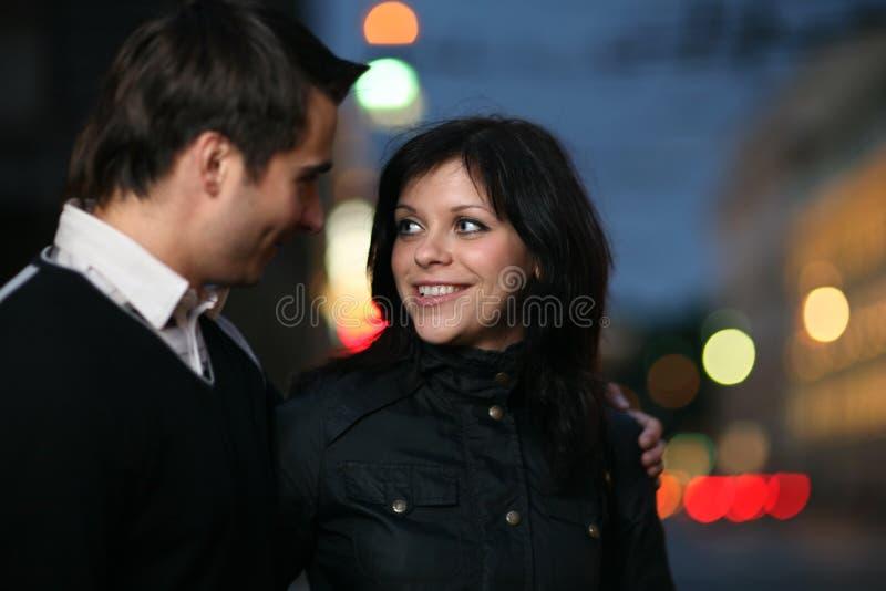 city couple στοκ φωτογραφία με δικαίωμα ελεύθερης χρήσης