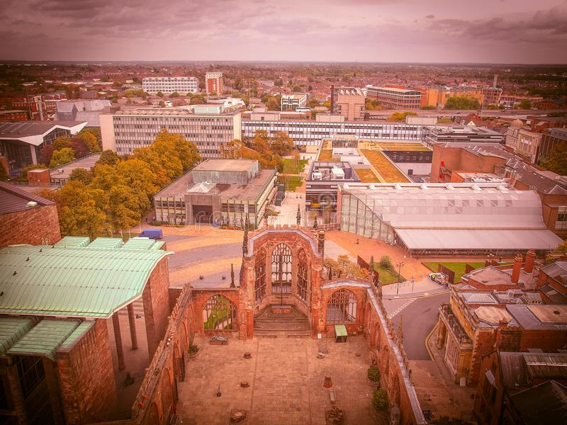 City of Coventry royalty free stock photos