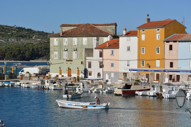 City of Cres royalty free stock photos
