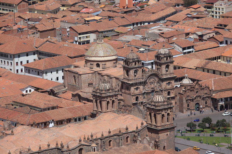 Download The City of Cuzco stock image. Image of above, empire - 33928329