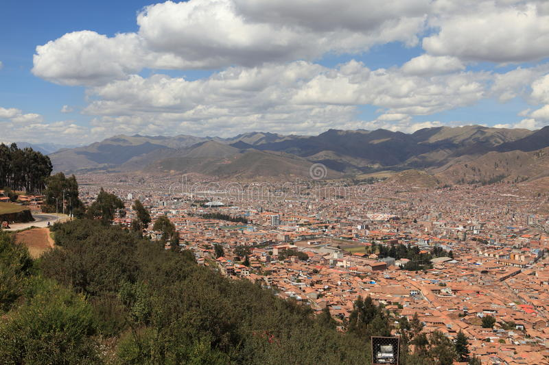 The City Of Cuzco Royalty Free Stock Photography