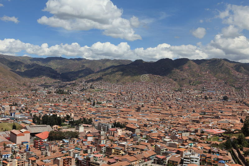 Download The City of Cuzco stock image. Image of cusco, roof, inca - 33928473