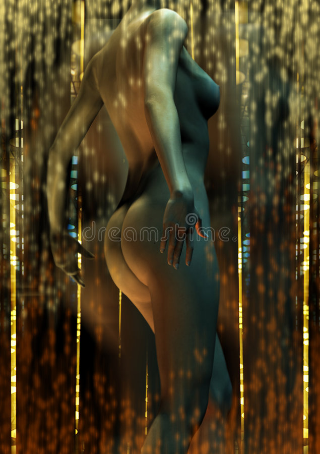 Download City Dancer stock photo. Image of image, erotic, painted - 189000