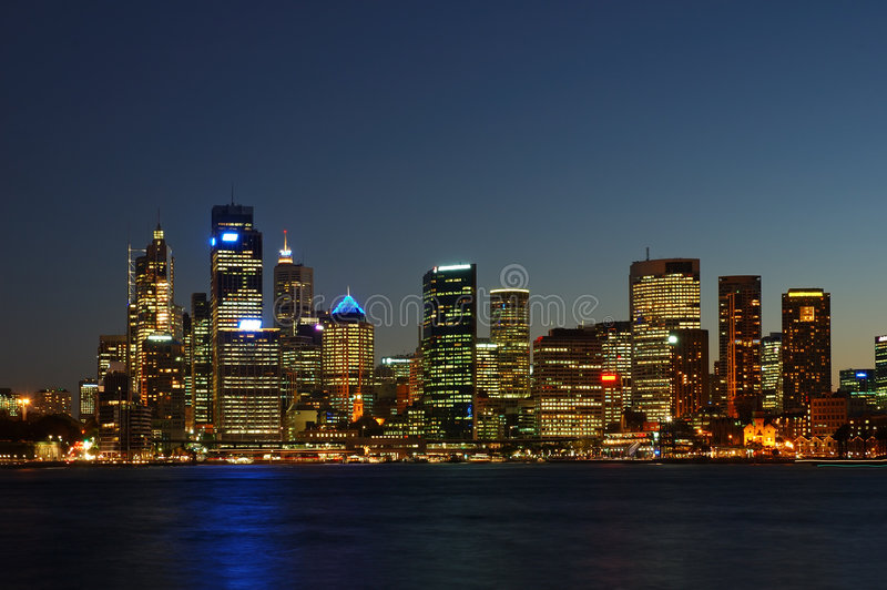 Download City After Dark Stock Photography - Image: 592402