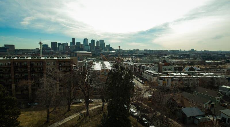 Denver City Lights Stock Photo. Image Of Light, Denver