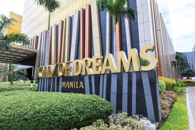 City of Dreams in Manila. The City of Dreamshotel, casino, and shopping complex in Manila, Philippines royalty free stock photos