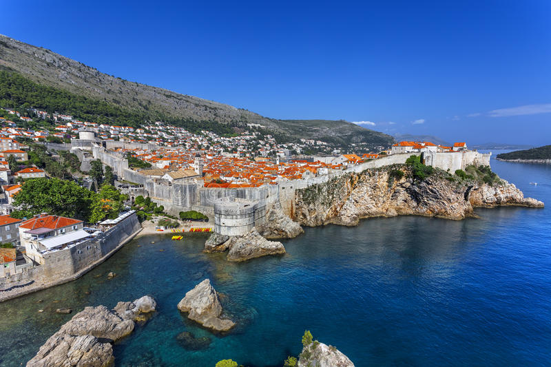 City of Dubrovnik royalty free stock photography