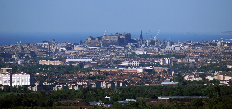 City of Edinburgh Scotland stock photography
