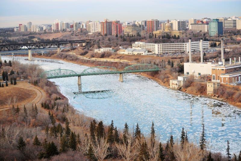 Download City edmonton stock photo. Image of bridge, freeze, crystal - 7300954