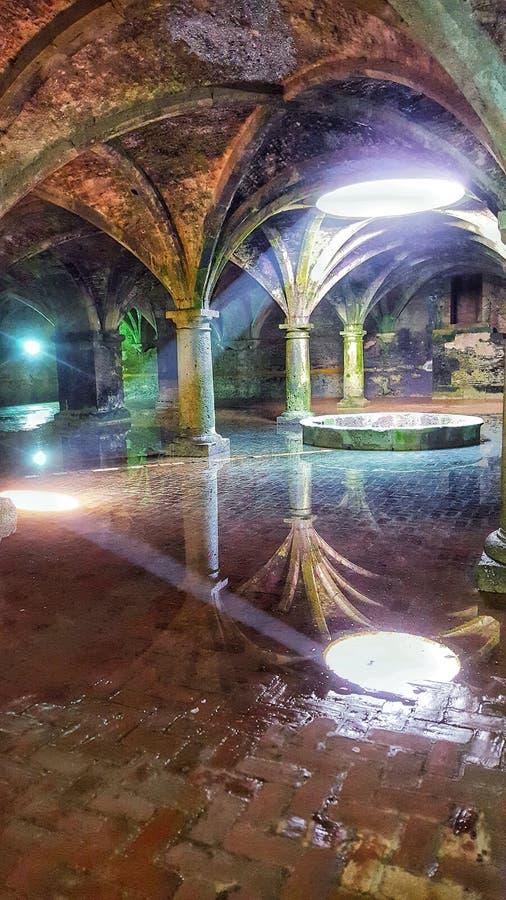 The Portuguese cistern of El Jadida , Morocco royalty free stock photos