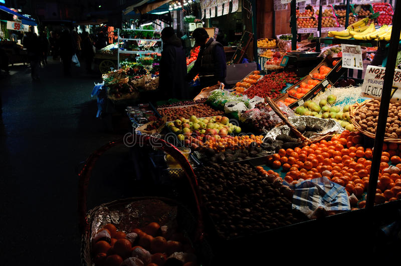 Download City evening market stock photo. Image of shops, fruits - 20413958