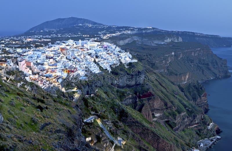 Download City Of Fira At Santorini Island, Greece Stock Image - Image of greek, countryside: 24318343