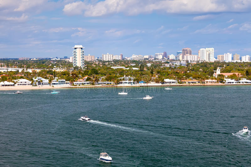 Download City Of Fort Lauderdale, Florida Stock Images - Image: 25851594