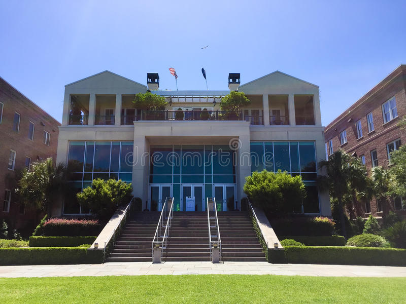 City Gallery at Waterplace Park, Charleston, SC. stock photo