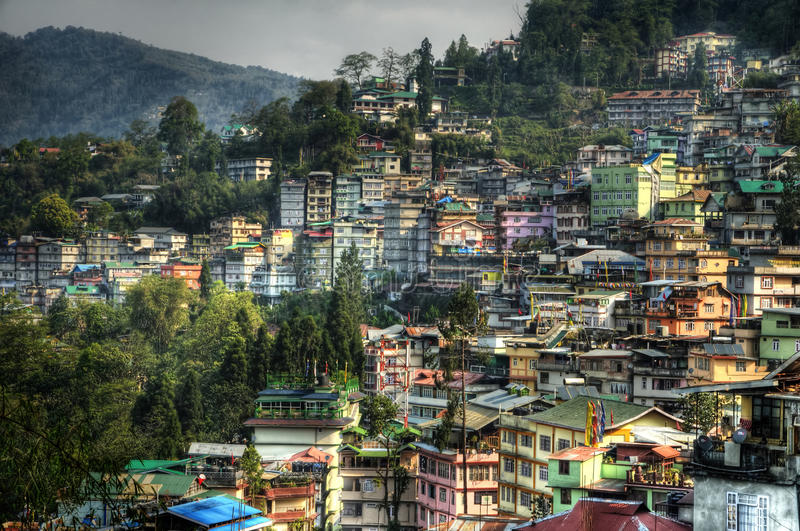 Download City Of Gangtok Royalty Free Stock Photo - Image: 19552675
