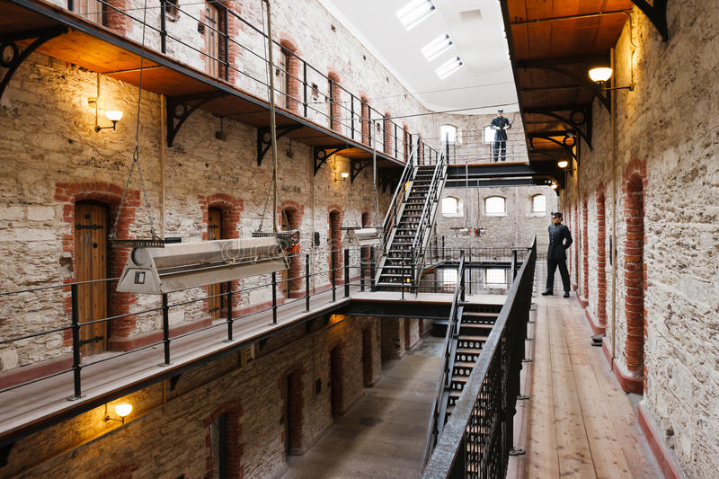 City Gaol. Cork, Ireland stock photo