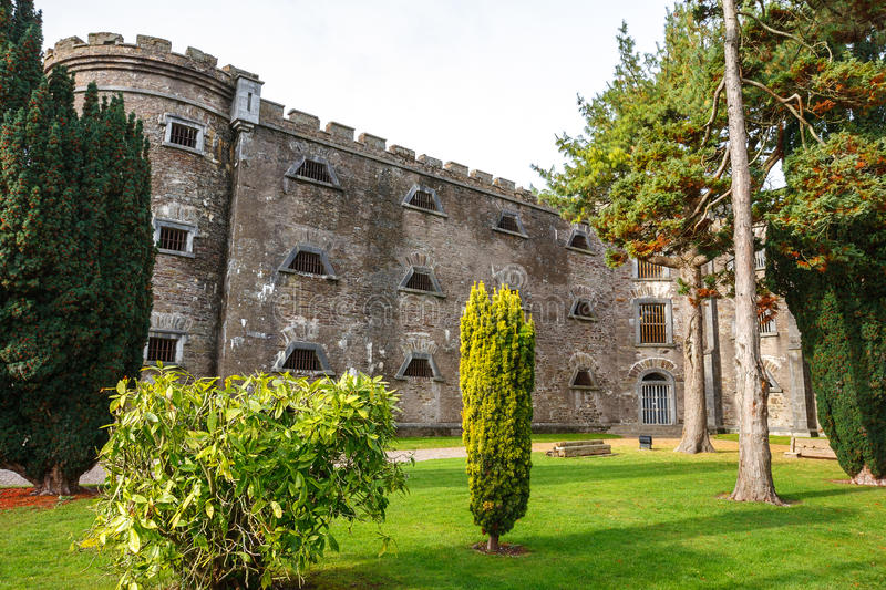 City Gaol. Cork, Ireland. The old City Gaol in Cork. Republic of Ireland. Built in 1824. Now it's a museum stock photos