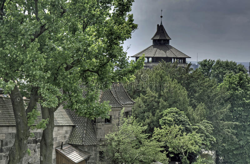 Download City Gate And City Wall, Nuremberg Stock Photo - Image: 10633404