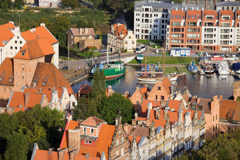 Download City Of Gdansk In Poland Stock Photography - Image: 21808792