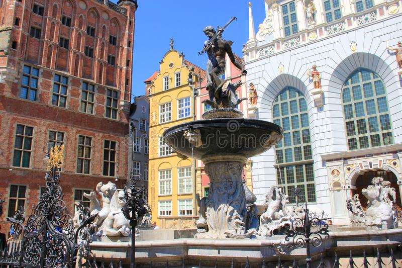 City of Gdansk, Poland royalty free stock images