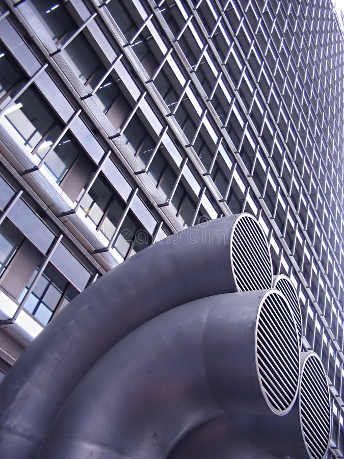 Download City geometry stock photo. Image of clock, skyscrape, center - 519040