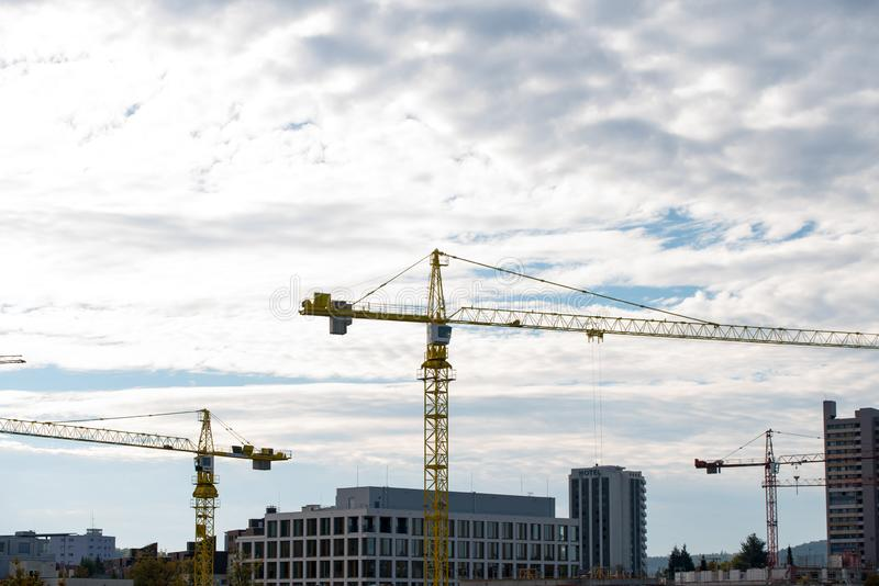 City growth, Europe, Germany royalty free stock photography