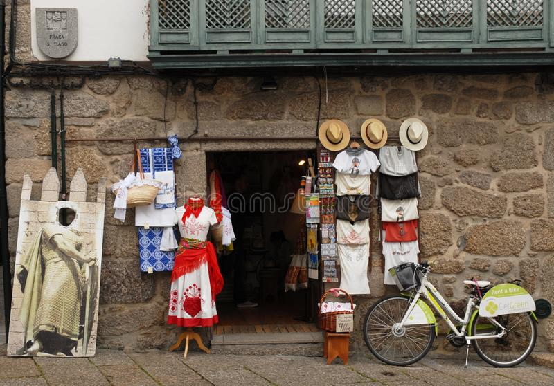 City of Guimaraes in Portugal royalty free stock photos