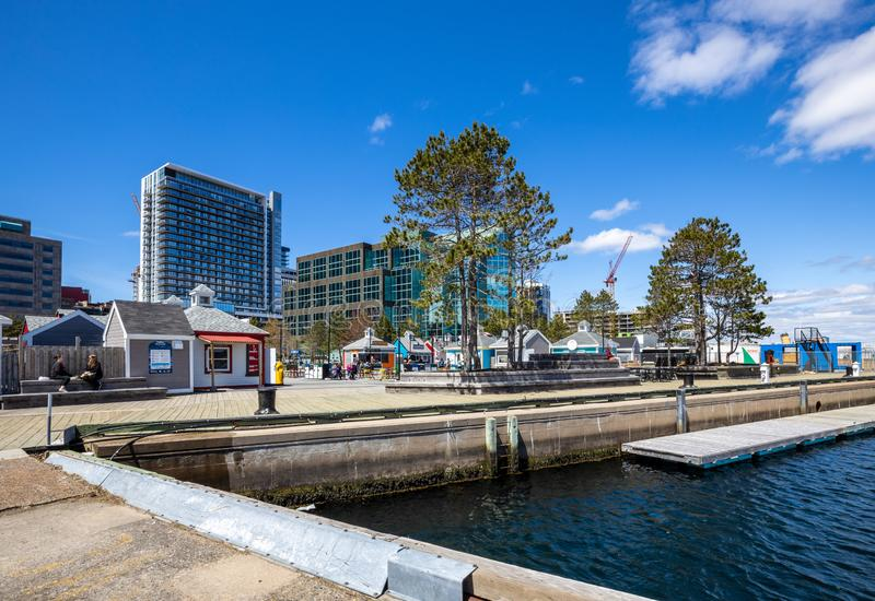 City of Halifax in Canada. The City of Halifax in Canada royalty free stock photos