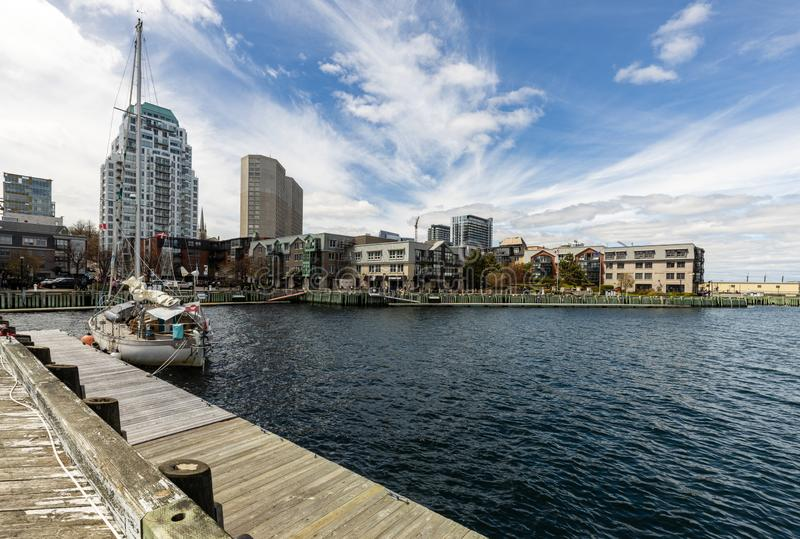 City of Halifax in Canada. The City of Halifax in Canada royalty free stock image